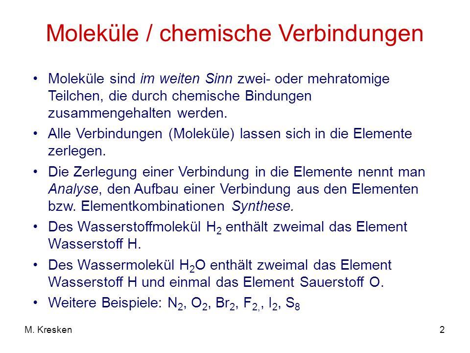 13M. Kresken Ionenbindung (NaCl)