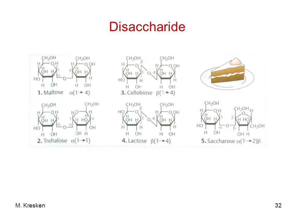 32M. Kresken Disaccharide