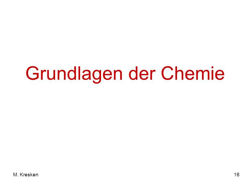 16M. Kresken Grundlagen der Chemie