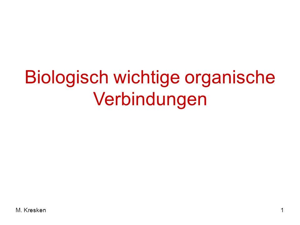1M. Kresken Biologisch wichtige organische Verbindungen