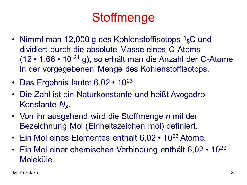 14M. Kresken Energiediagramm für die Bildung einer Atombindung 1s1s Energie Atomorbital 1s1s *