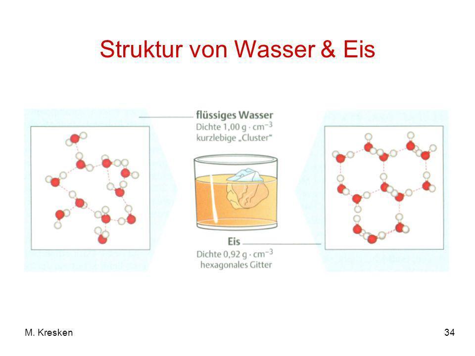 34M. Kresken Struktur von Wasser & Eis
