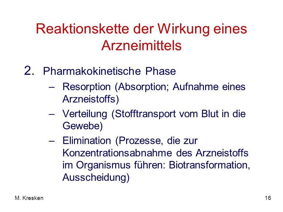 16M.Kresken Reaktionskette der Wirkung eines Arzneimittels 2.