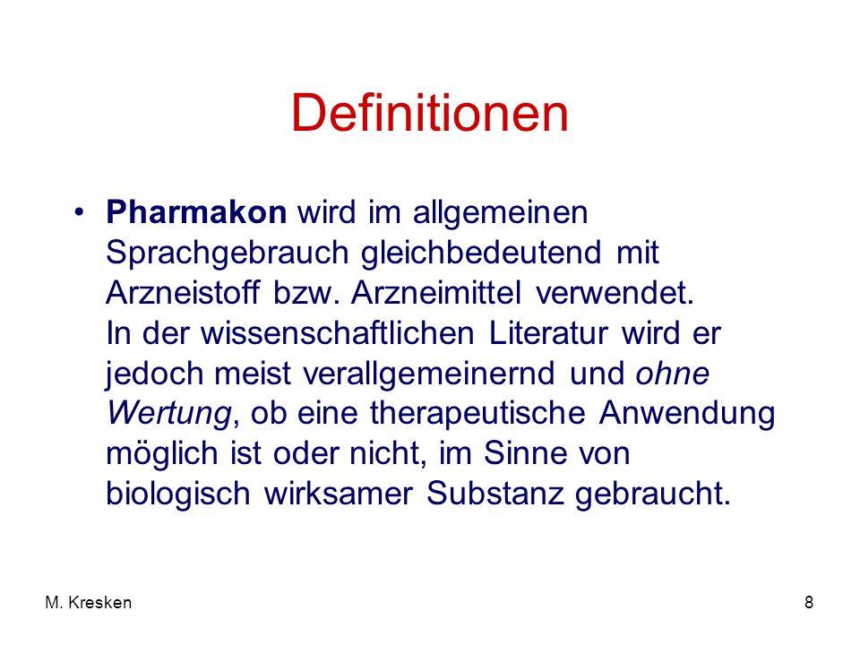 9M.Kresken Pharmakologie ist...