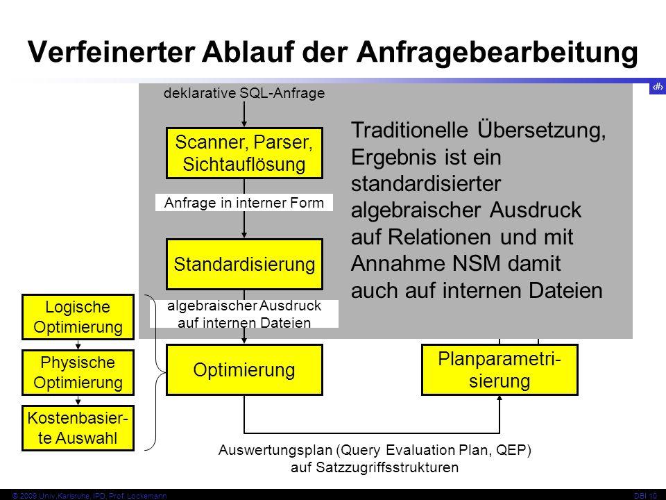 78 © 2009 Univ,Karlsruhe, IPD, Prof.