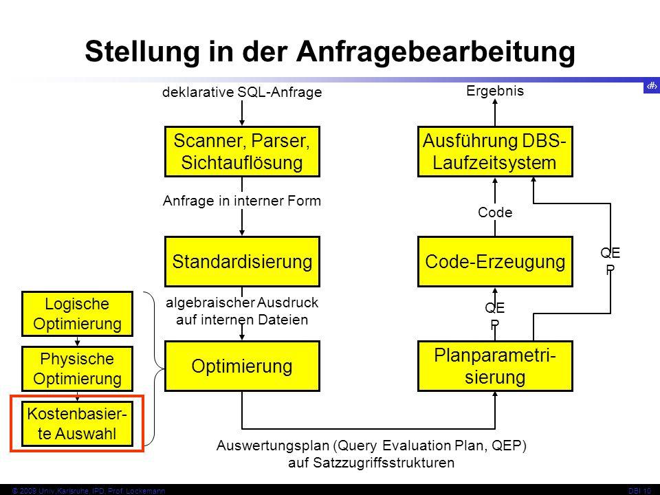 90 © 2009 Univ,Karlsruhe, IPD, Prof.