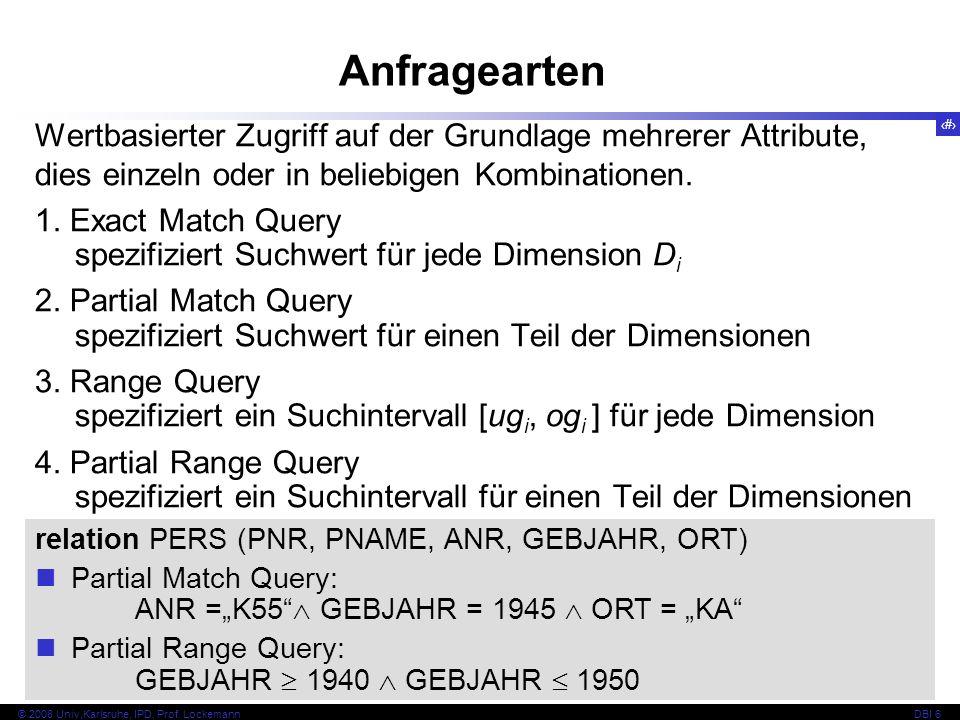 101 © 2008 Univ,Karlsruhe, IPD, Prof.
