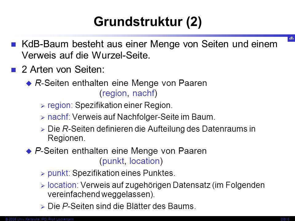 131 © 2008 Univ,Karlsruhe, IPD, Prof.