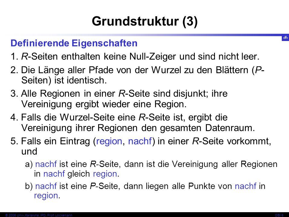 133 © 2008 Univ,Karlsruhe, IPD, Prof.