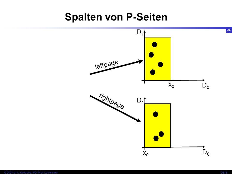 138 © 2008 Univ,Karlsruhe, IPD, Prof.