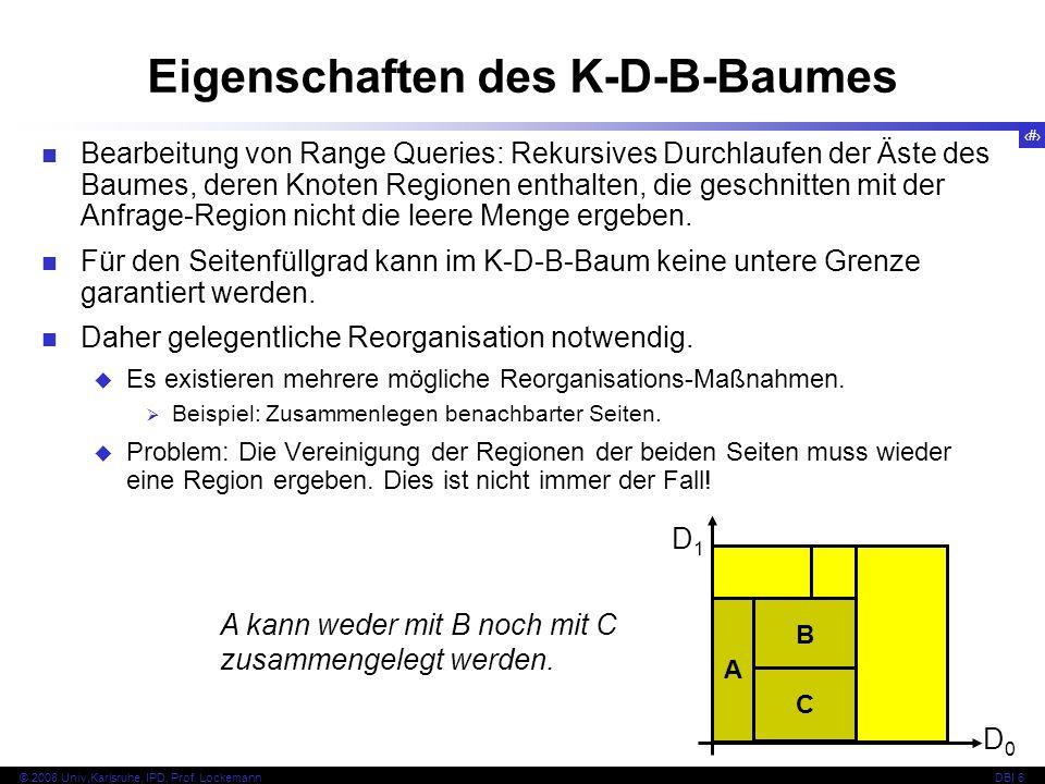150 © 2008 Univ,Karlsruhe, IPD, Prof.