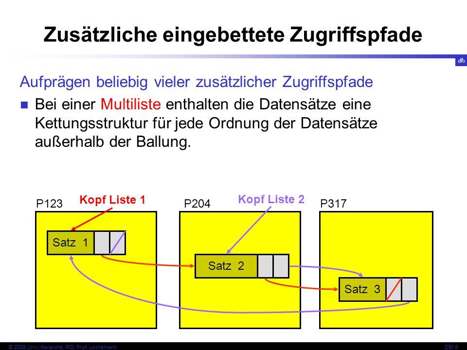 20 © 2008 Univ,Karlsruhe, IPD, Prof.