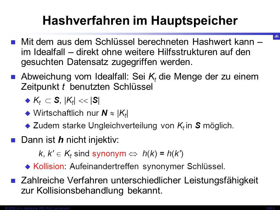 25 © 2008 Univ,Karlsruhe, IPD, Prof.