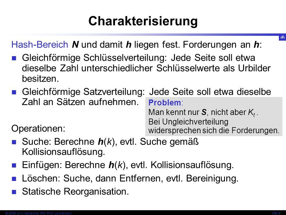 31 © 2008 Univ,Karlsruhe, IPD, Prof.