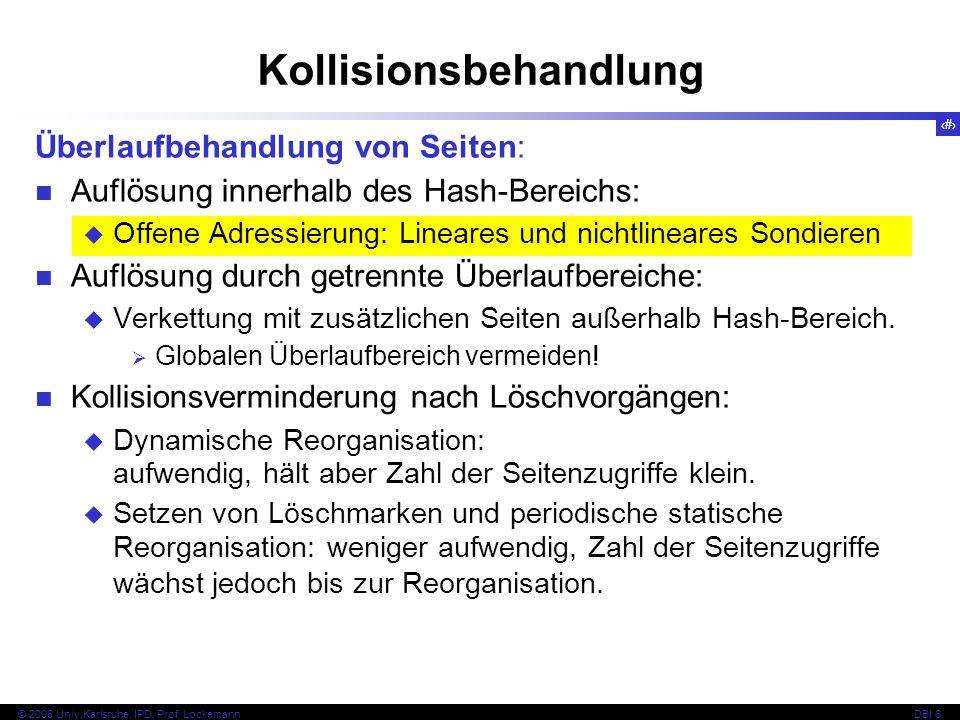 35 © 2008 Univ,Karlsruhe, IPD, Prof.