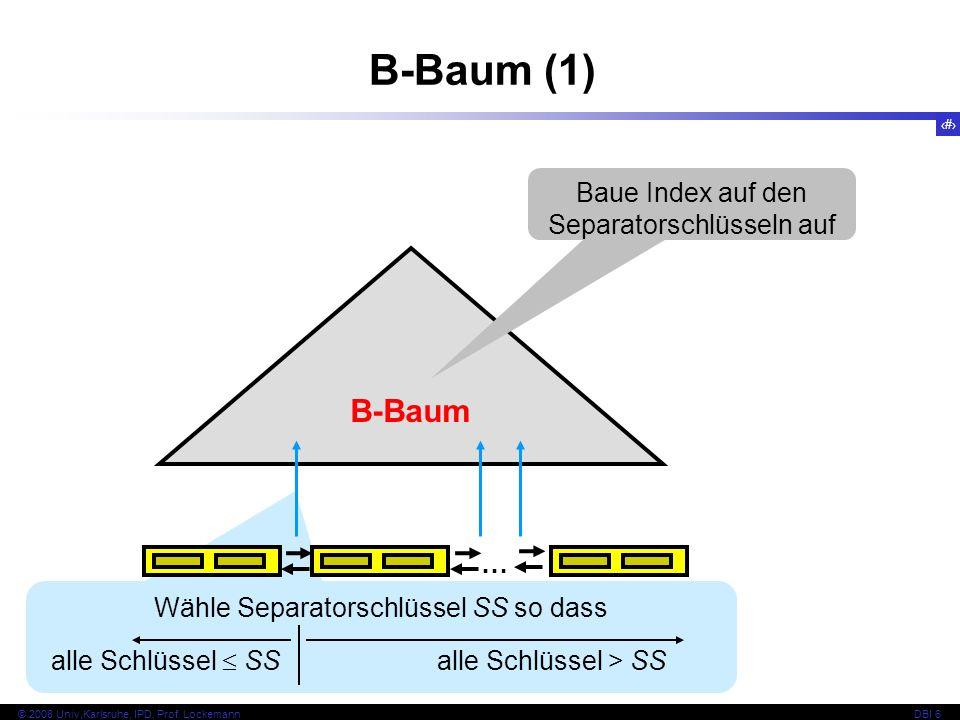 67 © 2008 Univ,Karlsruhe, IPD, Prof.