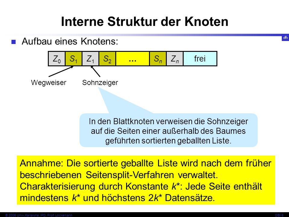 72 © 2008 Univ,Karlsruhe, IPD, Prof.