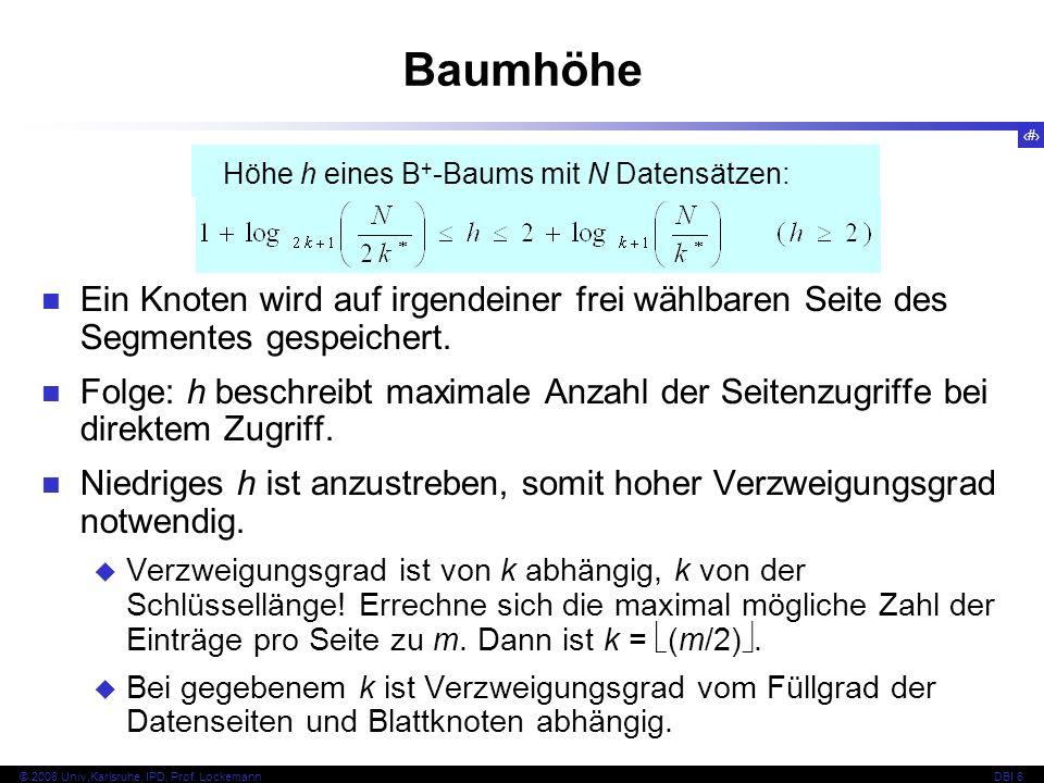 75 © 2008 Univ,Karlsruhe, IPD, Prof.