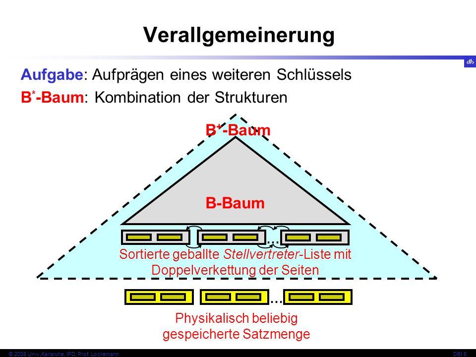 91 © 2008 Univ,Karlsruhe, IPD, Prof.