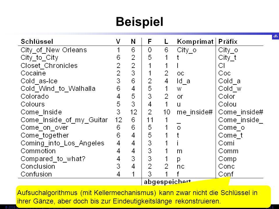 98 © 2008 Univ,Karlsruhe, IPD, Prof. LockemannDBI 6 Kapitel 6.5 Mehrdimensionale Indexe