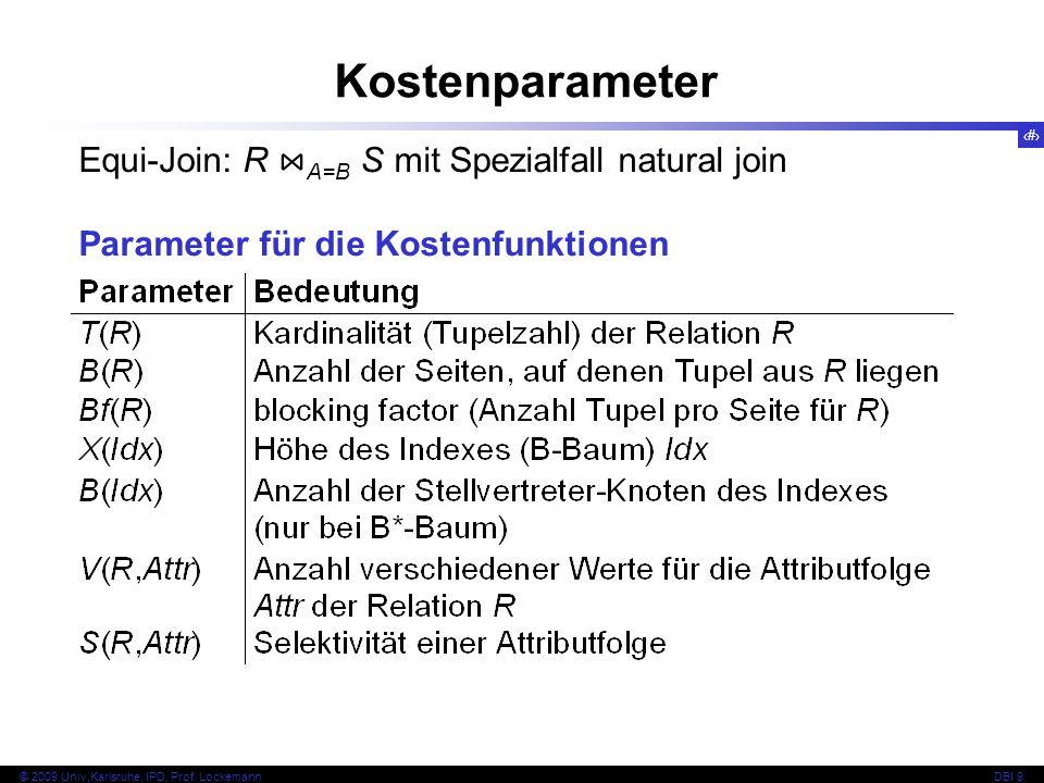 34 © 2009 Univ,Karlsruhe, IPD, Prof.