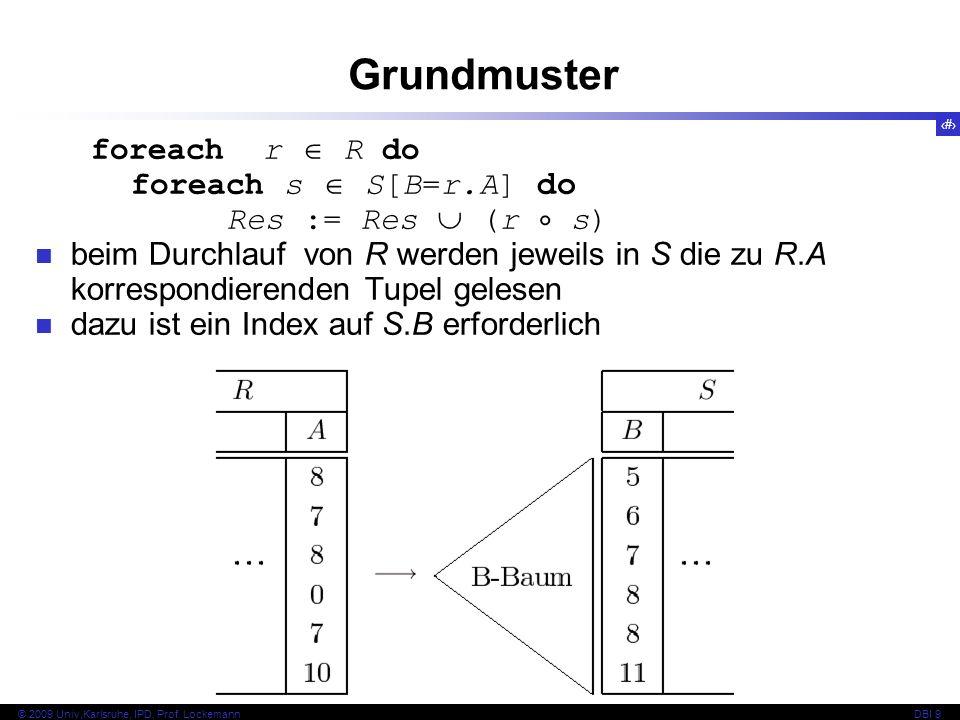 48 © 2009 Univ,Karlsruhe, IPD, Prof.