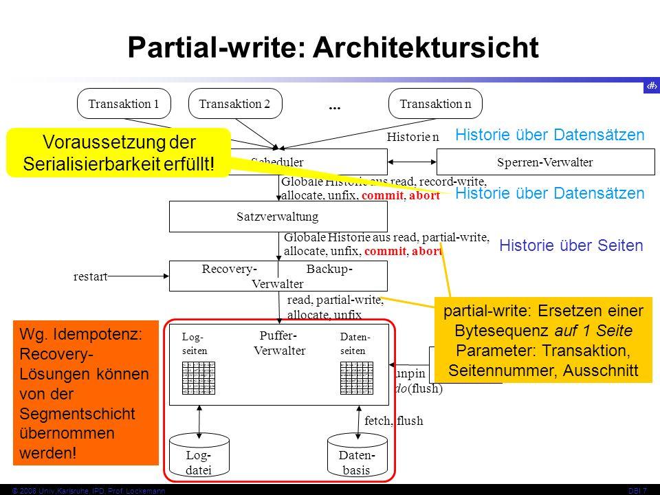 7 © 2008 Univ,Karlsruhe, IPD, Prof.
