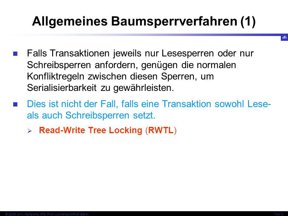 84 © 2006 Univ,Karlsruhe, IPD, Prof. Lockemann/Prof.
