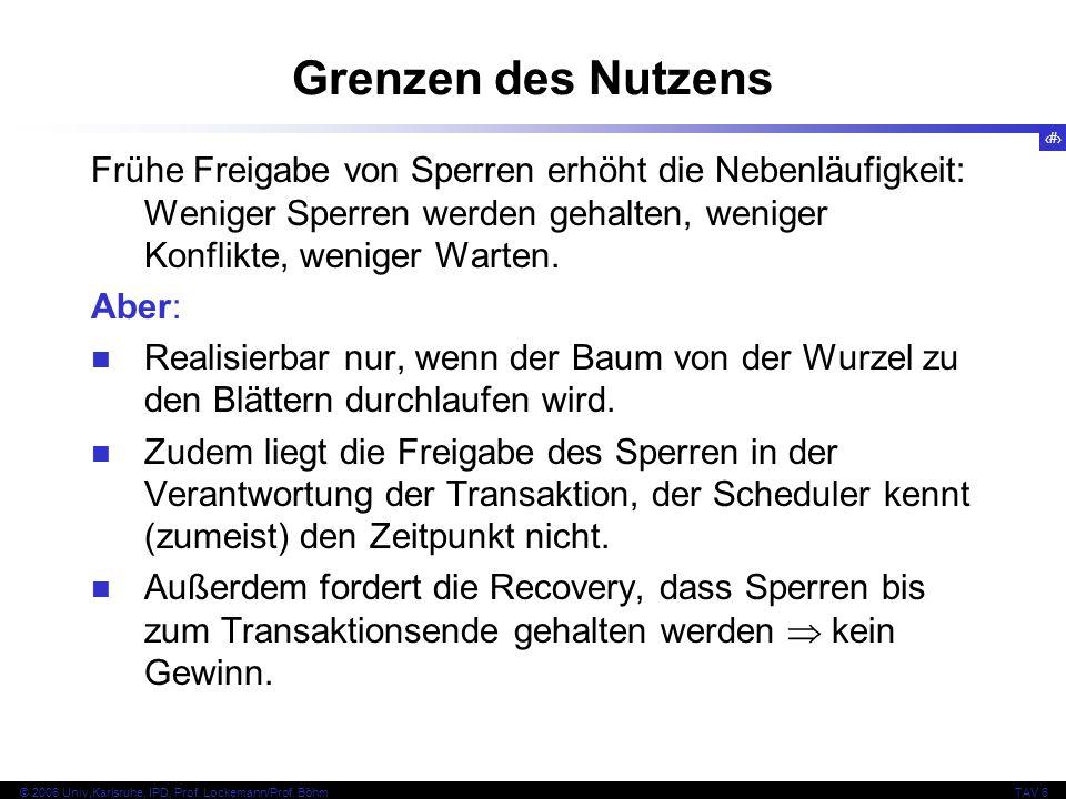 90 © 2006 Univ,Karlsruhe, IPD, Prof. Lockemann/Prof.