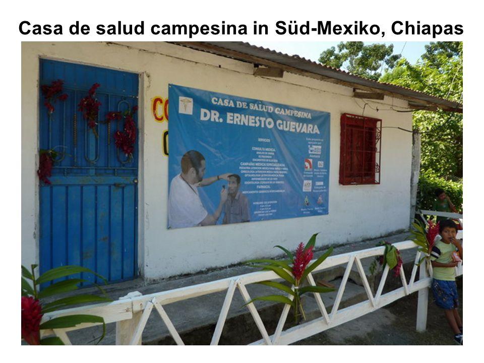 Casa de salud campesina in Süd-Mexiko, Chiapas