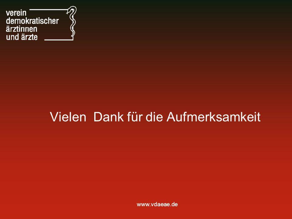 www.vdaeae.de Vielen Dank für die Aufmerksamkeit