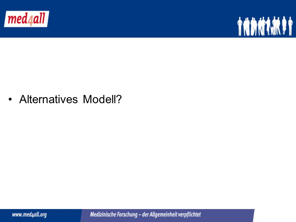 Alternatives Modell?