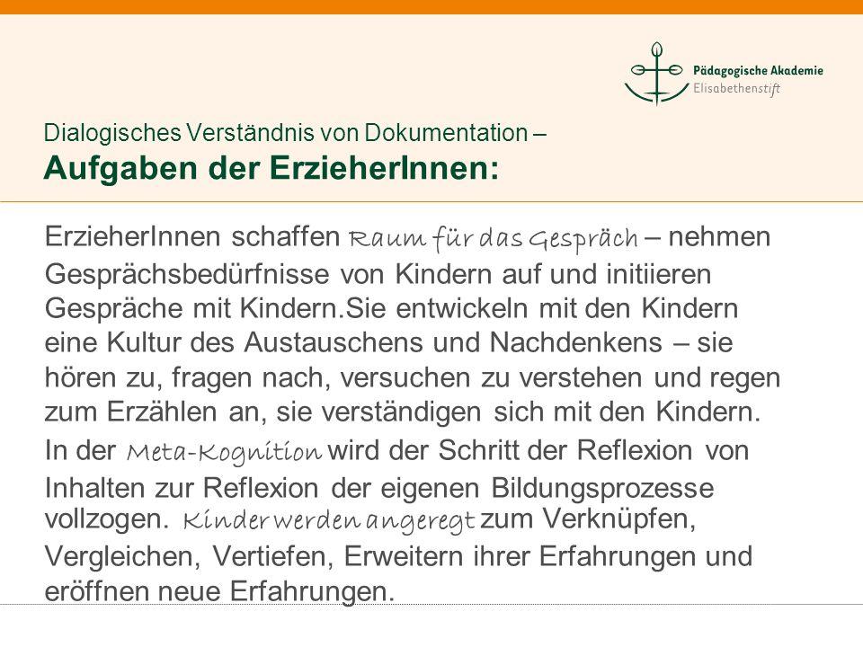 …. im Dialog Neuseeländische Kindertageseinrichtung