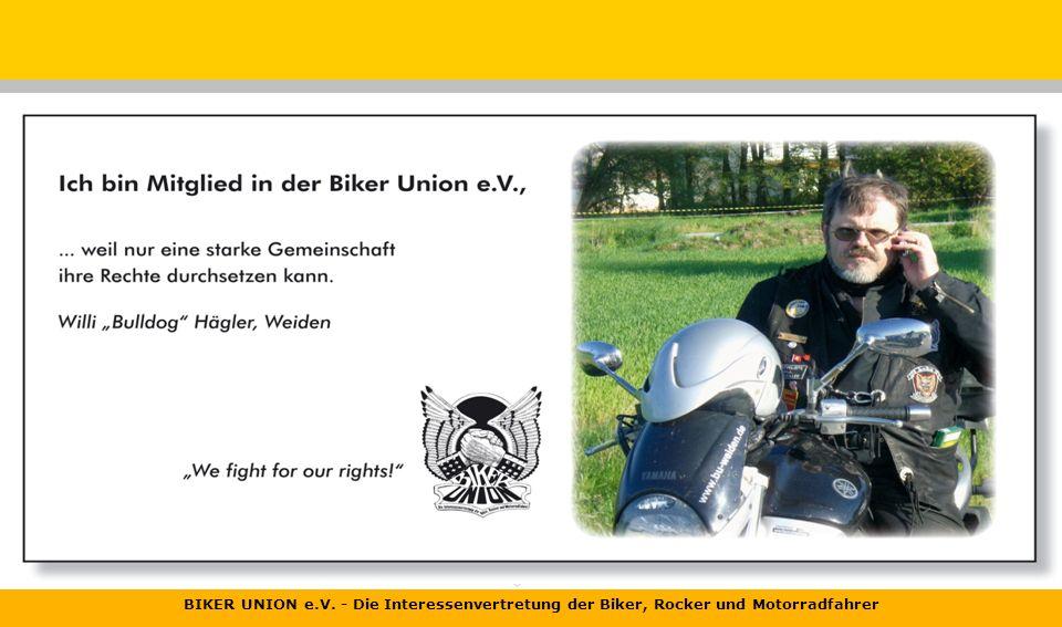 BIKER UNION e.V. - Die Interessenvertretung der Biker, Rocker und Motorradfahrer