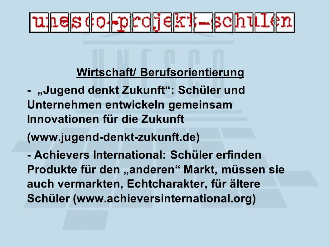 Kultur des Friedens - Camps - Seminare - Workshops - UNO- Planspiele - Kooperation mit NGOs (Non- Governmental Organizations) und ortsansässigen Institutionen, u.a.
