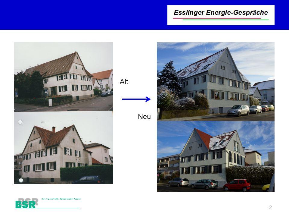 BSR Dipl.-Ing. Architektin Barbara Strobel-Rudolph 2 Alt Neu