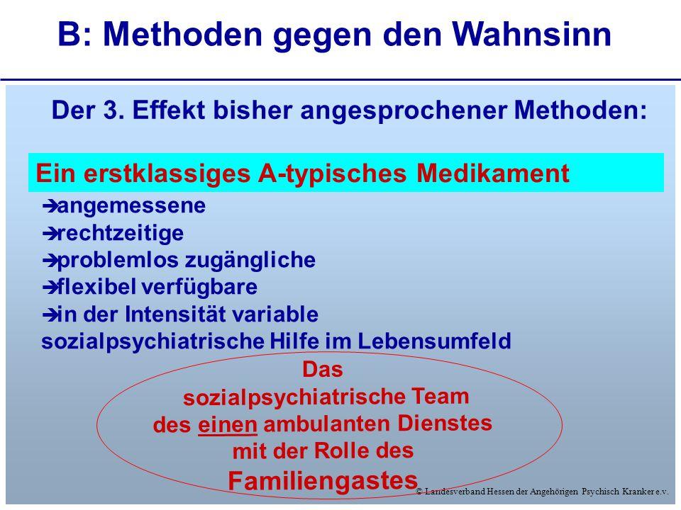 © Landesverband Hessen der Angehörigen Psychisch Kranker e.v. angemessene rechtzeitige problemlos zugängliche flexibel verfügbare in der Intensität va
