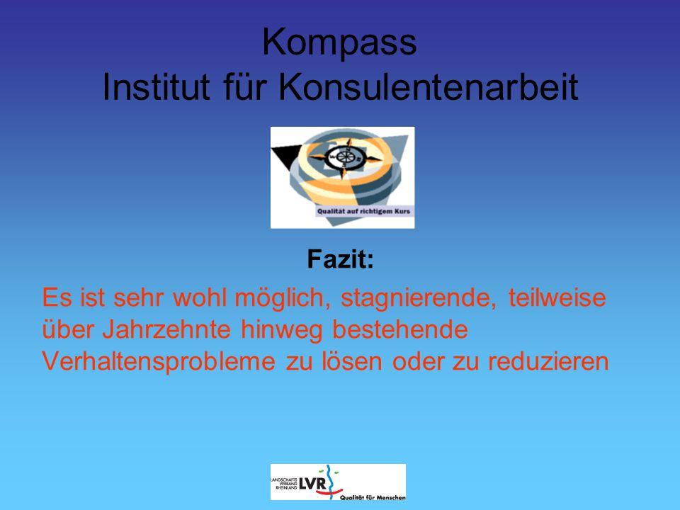Kompass Institut für Konsulentenarbeit Herzlichen Dank für Ihre Aufmerksamkeit!