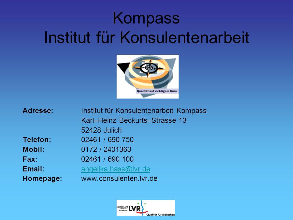 Kompass Institut für Konsulentenarbeit B.Thimianidou R.