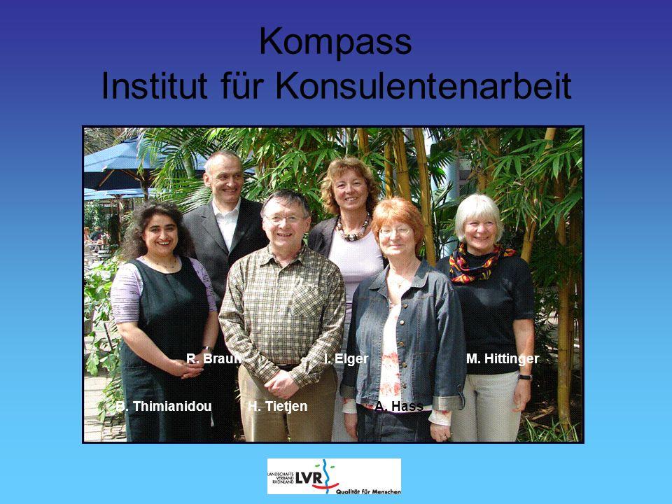 Kompass Institut für Konsulentenarbeit Was machen wir.