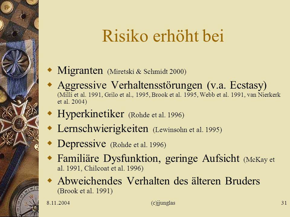8.11.2004(c)jjunglas30 Was empfehlen prakt. Ärzte? Graß & Farke 2001