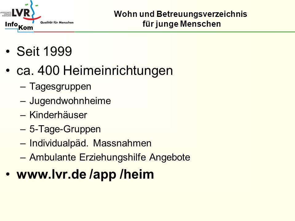 Kom Info Seit 1999 ca.