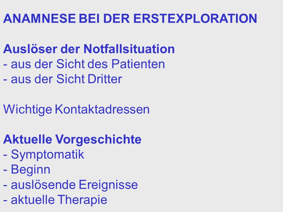 SEROTONINSYNDROM (II) Prädisponierende hohe Dosierung, rasche Dosissteigerung Faktoren Kombinationstherapie mit mehreren serotoninaktivierenden Substanzen, zerebrale Vorschädigung Häufig auslösende Sub- Serotonin-Rückaufnahme-Hemmer stanzen Therapie stationäre Aufnahme Überwachung der Vitalfunktionen Absetzen der angeschuldigten Substanz Symptomatische Therapie (Magenspülung, Aktivkohle) kein spezifisches Antidot verfügbar