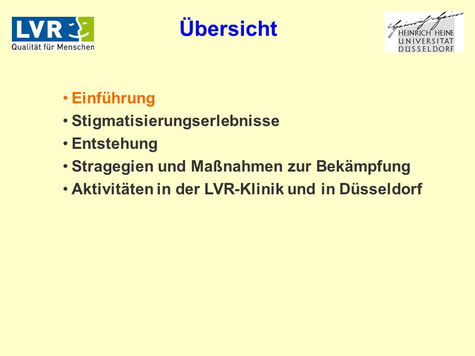 Bundesweit implementierte Antistigma-Programme WPA Global Programme Against Stigma And Discrimination Because Of Schizophrenia Aktionsbündnis für Seelische Gesundheit