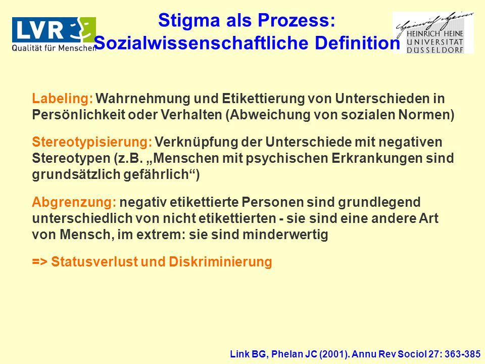 Link BG, Phelan JC (2001).