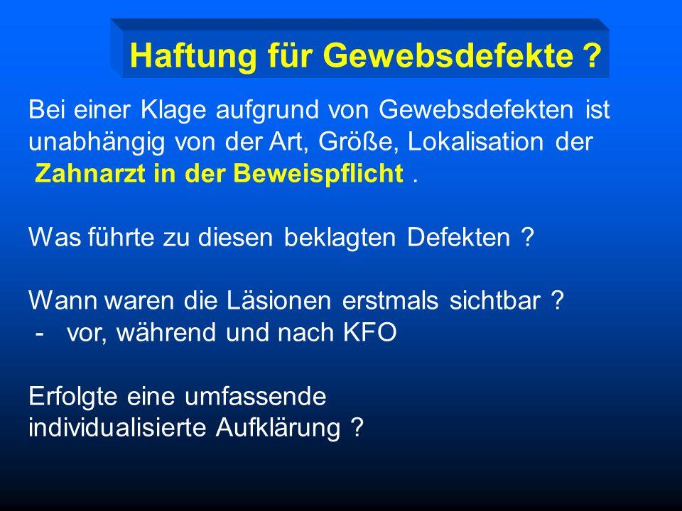 Risiken kieferorthopädischer Therapie Gewebedefekte - Schmelzdefekte, kariöse Läsionen white spots Schmelzdefekte - parodontale Läsionen Gingivitis, P