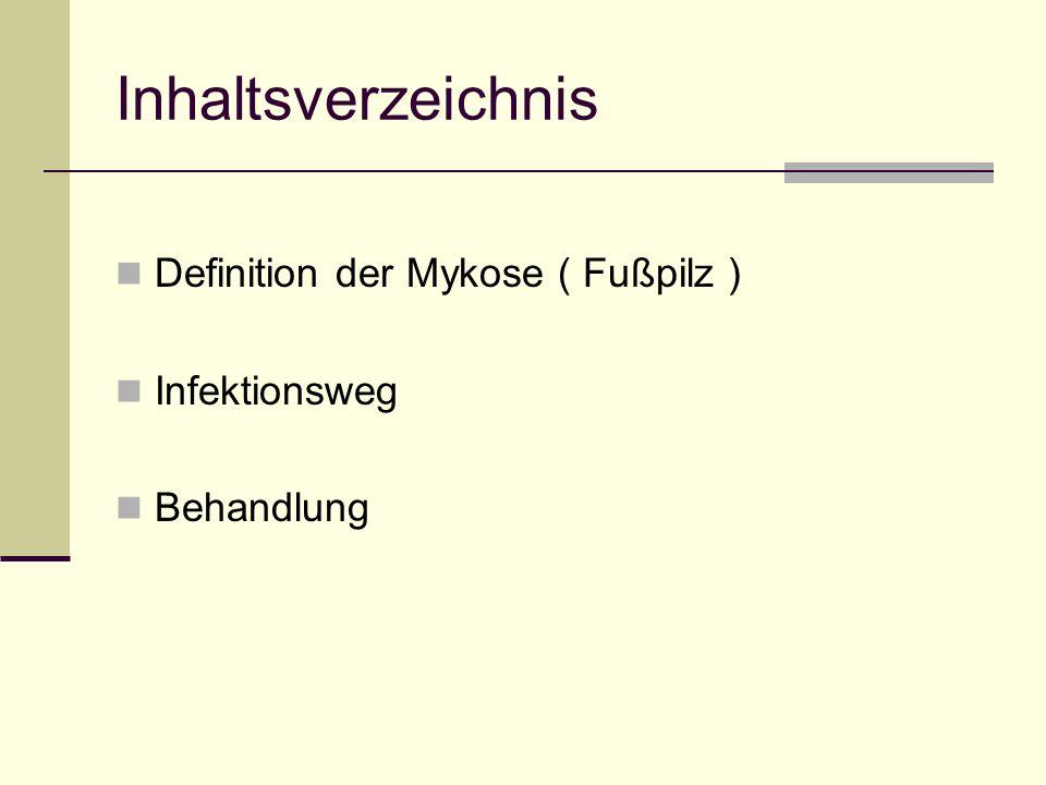 Mykosen Am Beispiel des Fußpilzes Lisa Röderer, Anneke Hildebrandt (R10a)
