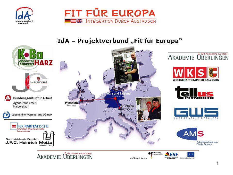1 IdA – Projektverbund Fit für Europa