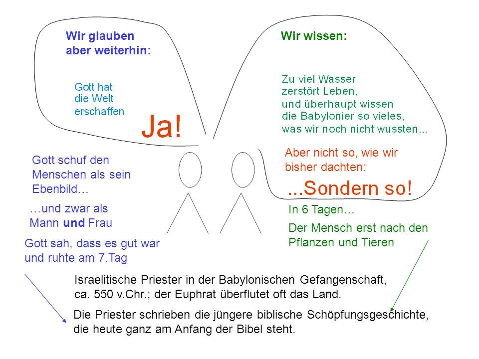 Nach der Rückkehr aus Babylon: Redaktionskonferenz fürs 1.