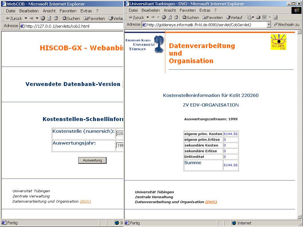 © 2001 FH Kaiserslautern DFN-Nutzergruppentagung Hochschulverwaltung 2001 - Folie 24